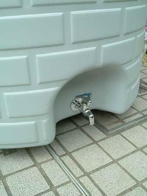 雨水タンク蛇口