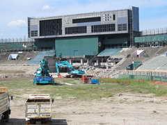 広島市民球場解体工事