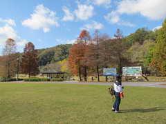 土師ダムの公園